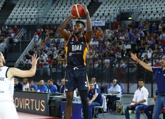 Moore Michael Virtus Roma - Happy Casa Brindisi Lega Basket Serie A 2019/2020 Roma, 29/09/2019 Foto Alfredo De Lise / Ciamillo-Castoria