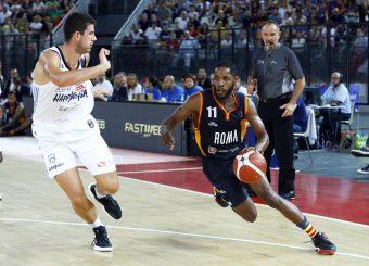 Dyson Jerome Virtus Roma - Happy Casa Brindisi Lega Basket Serie A 2019/2020 Roma, 29/09/2019 Foto Alfredo De Lise / Ciamillo-Castoria