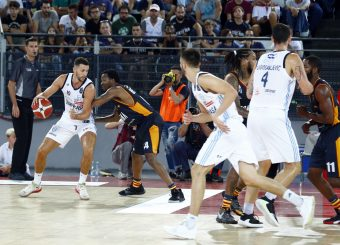 Gaspardo Raphael Virtus Roma - Happy Casa Brindisi Lega Basket Serie A 2019/2020 Roma, 29/09/2019 Foto Alfredo De Lise / Ciamillo-Castoria