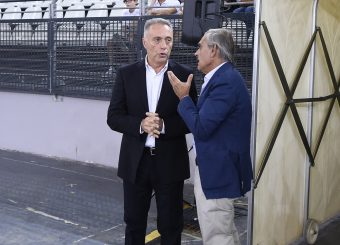 Bucchi Piero Toti Claudio Virtus Roma - Happy Casa Brindisi Lega Basket Serie A 2019/2020 Roma, 29/09/2019 Foto Gennaro Masi / Ciamillo-Castoria