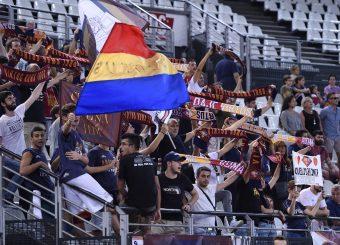 Tifosi Virtus Roma Virtus Roma - Happy Casa Brindisi Lega Basket Serie A 2019/2020 Roma, 29/09/2019 Foto Gennaro Masi / Ciamillo-Castoria