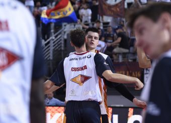 Alibegovic Amar Cusenza Kevin Virtus Roma - Happy Casa Brindisi Lega Basket Serie A 2019/2020 Roma, 29/09/2019 Foto Gennaro Masi / Ciamillo-Castoria