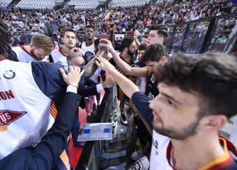 Virtus Roma Virtus Roma - Happy Casa Brindisi Lega Basket Serie A 2019/2020 Roma, 29/09/2019 Foto Gennaro Masi / Ciamillo-Castoria