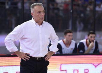 Bucchi Piero Virtus Roma - Happy Casa Brindisi Lega Basket Serie A 2019/2020 Roma, 29/09/2019 Foto Gennaro Masi / Ciamillo-Castoria