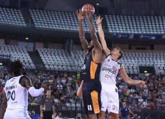 Jefferson Davon Zanelli Alessandro Virtus Roma - Happy Casa Brindisi Lega Basket Serie A 2019/2020 Roma, 29/09/2019 Foto Gennaro Masi / Ciamillo-Castoria