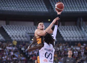 Alibegovic Amar Virtus Roma - Happy Casa Brindisi Lega Basket Serie A 2019/2020 Roma, 29/09/2019 Foto Gennaro Masi / Ciamillo-Castoria