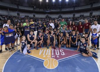 Virtus Roma With Us Virtus Roma - Happy Casa Brindisi Lega Basket Serie A 2019/2020 Roma, 29/09/2019 Foto Gennaro Masi / Ciamillo-Castoria