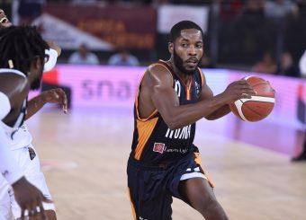 Dyson Jerome Virtus Roma - Happy Casa Brindisi Lega Basket Serie A 2019/2020 Roma, 29/09/2019 Foto Gennaro Masi / Ciamillo-Castoria