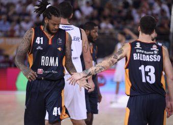 Jefferson Davon Baldasso Tommaso Virtus Roma - Happy Casa Brindisi Lega Basket Serie A 2019/2020 Roma, 29/09/2019 Foto Gennaro Masi / Ciamillo-Castoria
