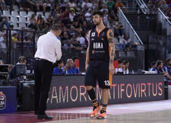 Baldasso Tommaso Virtus Roma - Happy Casa Brindisi Lega Basket Serie A 2019/2020 Roma, 29/09/2019 Foto Gennaro Masi / Ciamillo-Castoria