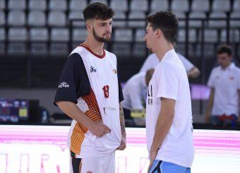Baldasso Tommaso Ruzzier Michele Virtus Roma - Vanoli Cremona Lega Basket Serie A 2019/2020 Roma, 06/10/2019 Foto Gennaro Masi / Ciamillo-Castoria