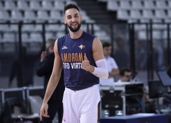 Cusenza Kevin Virtus Roma - Vanoli Cremona Lega Basket Serie A 2019/2020 Roma, 06/10/2019 Foto Gennaro Masi / Ciamillo-Castoria