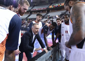 Bucchi Piero Virtus Roma - Vanoli Cremona Lega Basket Serie A 2019/2020 Roma, 06/10/2019 Foto Gennaro Masi / Ciamillo-Castoria