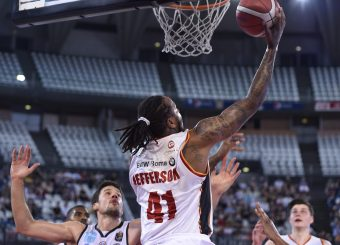 Jefferson Davon Virtus Roma - Vanoli Cremona Lega Basket Serie A 2019/2020 Roma, 06/10/2019 Foto Gennaro Masi / Ciamillo-Castoria