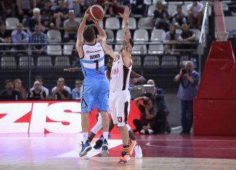 Diener Travis Virtus Roma - Vanoli Cremona Lega Basket Serie A 2019/2020 Roma, 06/10/2019 Foto Gennaro Masi / Ciamillo-Castoria