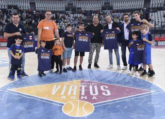 Virtus Roma With You Virtus Roma - Vanoli Cremona Lega Basket Serie A 2019/2020 Roma, 06/10/2019 Foto Gennaro Masi / Ciamillo-Castoria