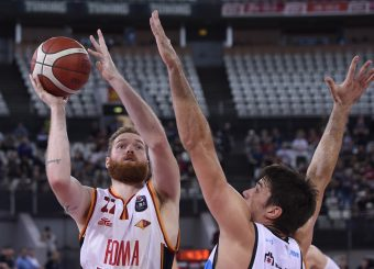 Pini Giovanni Virtus Roma - Vanoli Cremona Lega Basket Serie A 2019/2020 Roma, 06/10/2019 Foto Gennaro Masi / Ciamillo-Castoria
