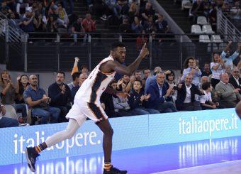Moore Michael Virtus Roma - Vanoli Cremona Lega Basket Serie A 2019/2020 Roma, 06/10/2019 Foto Gennaro Masi / Ciamillo-Castoria