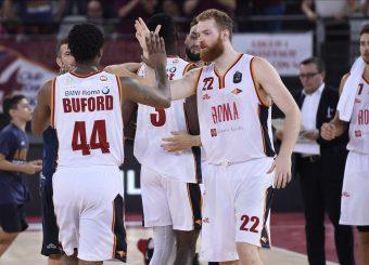 Virtus Roma Virtus Roma - Vanoli Cremona Lega Basket Serie A 2019/2020 Roma, 06/10/2019 Foto Gennaro Masi / Ciamillo-Castoria