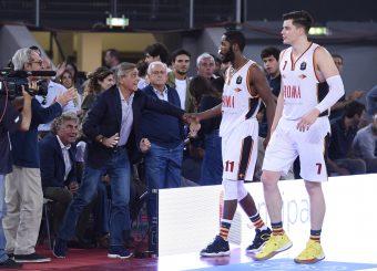 Dyson Jerome Toti Claudio Virtus Roma - Vanoli Cremona Lega Basket Serie A 2019/2020 Roma, 06/10/2019 Foto Gennaro Masi / Ciamillo-Castoria