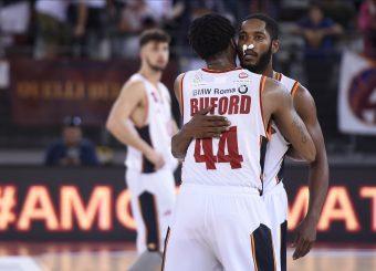 Buford William Dyson Jerome Virtus Roma - Vanoli Cremona Lega Basket Serie A 2019/2020 Roma, 06/10/2019 Foto Gennaro Masi / Ciamillo-Castoria