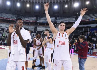 Alibegovic Amar Virtus Roma - Vanoli Cremona Lega Basket Serie A 2019/2020 Roma, 06/10/2019 Foto Gennaro Masi / Ciamillo-Castoria