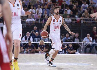 Baldasso Tommaso Virtus Roma - AX Armani Exchange Milano Lega Basket Serie A 2019/2020 Roma, 27/10/2019 Foto Gennaro Masi / Ciamillo-Castoria