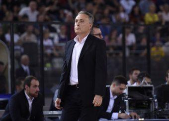 Bucchi Piero Virtus Roma - AX Armani Exchange Milano Lega Basket Serie A 2019/2020 Roma, 27/10/2019 Foto Gennaro Masi / Ciamillo-Castoria