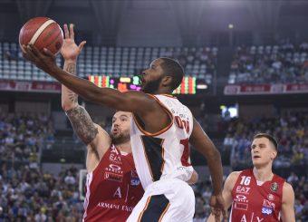 Dyson Jerome Virtus Roma - AX Armani Exchange Milano Lega Basket Serie A 2019/2020 Roma, 27/10/2019 Foto Gennaro Masi / Ciamillo-Castoria