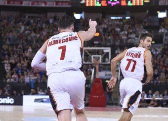 Alibegovic Amar Virtus Roma - AX Armani Exchange Milano Lega Basket Serie A 2019/2020 Roma, 27/10/2019 Foto Gennaro Masi / Ciamillo-Castoria