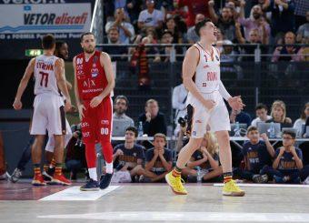Amar Alibegovic Virtus Roma - A | X Armani Exchange Olimpia Milano Legabasket Serie A 2019/20 Roma, 27/10/2019 Foto MarcoBrondi // CIAMILLO-CASTORIA