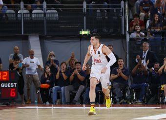 Alibegovic Amar Virtus Roma - AX Armani Exchange Milano Legabasket Serie A 2019-20 Roma, 27/10/2019 Foto Ciamillo-Castoria
