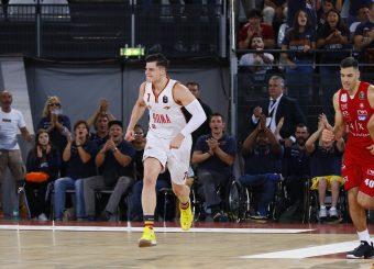 Alibegovic Amar Virtus Roma - AX Armani Exchange Milano Lega Basket Serie A 2019/2020 Roma, 27/10/2019 Foto Alfredo De Lise/Ciamillo-Castoria