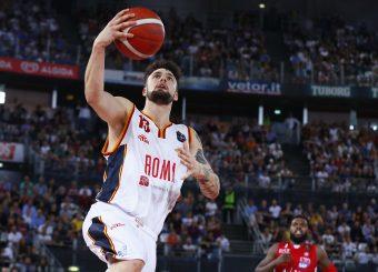 Baldasso Tommaso Virtus Roma - AX Armani Exchange Milano Legabasket Serie A 2019-20 Roma, 27/10/2019 Foto Ciamillo-Castoria