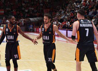Jerome Dyson, Tomas Kyzlink, Amar AlibegovicOriOra Pistoia - Virtus RomaLegabasket Serie A 2019/2020Pistoia, 12/10/2019Foto M.Ceretti / Ciamillo-Castoria
