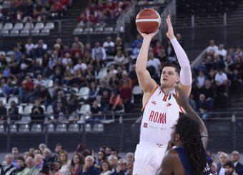 Alibegovic Amar Virtus Roma - Fortitudo Pompea Bologna Lega Basket Serie A 2019/2020 Roma, 20/10/2019 Foto Gennaro Masi / Ciamillo-Castoria
