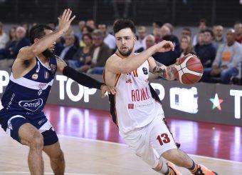 Baldasso Tommaso Virtus Roma - Fortitudo Pompea Bologna Lega Basket Serie A 2019/2020 Roma, 20/10/2019 Foto Gennaro Masi / Ciamillo-Castoria