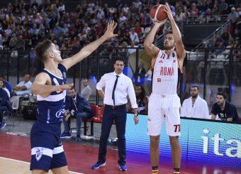 Kyzlink Tomas Virtus Roma - Fortitudo Pompea Bologna Lega Basket Serie A 2019/2020 Roma, 20/10/2019 Foto Gennaro Masi / Ciamillo-Castoria