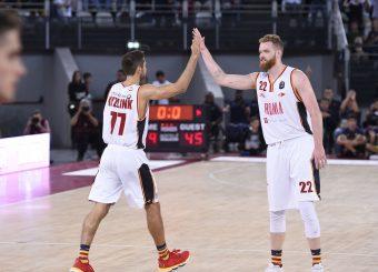 Kyzlink Tomas Pini Giovanni Virtus Roma - Fortitudo Pompea Bologna Lega Basket Serie A 2019/2020 Roma, 20/10/2019 Foto Gennaro Masi / Ciamillo-Castoria