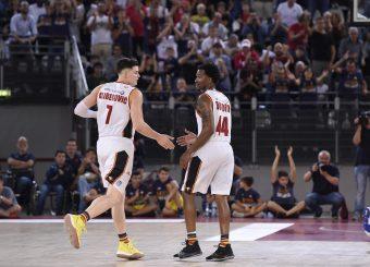 Alibegovic Amar William Buford Virtus Roma - Fortitudo Pompea Bologna Lega Basket Serie A 2019/2020 Roma, 20/10/2019 Foto Gennaro Masi / Ciamillo-Castoria