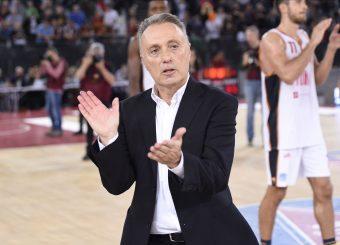 Bucchi Piero Virtus Roma - Fortitudo Pompea Bologna Lega Basket Serie A 2019/2020 Roma, 20/10/2019 Foto Gennaro Masi / Ciamillo-Castoria