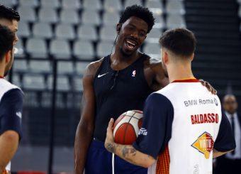 Sims Henry Baldasso Tommaso Virtus Roma - Pompea Fortitudo Bologna Legabasket Serie A 2019-20 Roma, 20/10/2019 Foto Ciamillo-Castoria