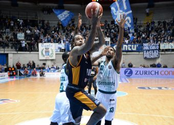 Jefferson Davon Acqua S.Bernardo Cantu - Virtus Roma Legabasket Serie A 2019-2020 Cantu 10 novembre 2019 Foto Ciamillo