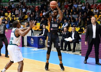 Dyson Jerome Acqua S.Bernardo Cantu - Virtus Roma Legabasket Serie A 2019-2020 Cantu 10 novembre 2019 Foto Ciamillo