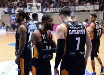 Dyson Jerome Alibegovic Amar Acqua S.Bernardo Cantu - Virtus Roma Legabasket Serie A 2019-2020 Cantu 10 novembre 2019 Foto Ciamillo