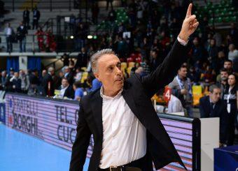 Bucchi Piero Pallacanestro Acqua San Bernardo Cantù - Virtus Roma Legabasket serieA 2019 -2020 Desio, 10/11/2019 Foto Ciamillo-Castoria/ Claudio Degaspari