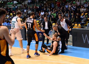Pini Giovanni, Bucchi Piero Pallacanestro Acqua San Bernardo Cantù - Virtus Roma Legabasket serieA 2019 -2020 Desio, 10/11/2019 Foto Ciamillo-Castoria/ Claudio Degaspari