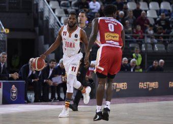 Dyson JeromeVirtus Roma - Carpegna Prosciutto Basket PesaroLega Basket Serie A 2019/2020Roma, 17/11/2019Foto Gennaro Masi / Ciamillo-Castoria
