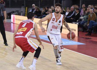Baldasso TommasoVirtus Roma - Carpegna Prosciutto Basket PesaroLega Basket Serie A 2019/2020Roma, 17/11/2019Foto Gennaro Masi / Ciamillo-Castoria