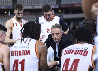 Bucchi PieroVirtus Roma - Carpegna Prosciutto Basket PesaroLega Basket Serie A 2019/2020Roma, 17/11/2019Foto Gennaro Masi / Ciamillo-Castoria